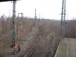 Betriebsbesichtigung Dortmund Güterbahnhof, 14.3.2009