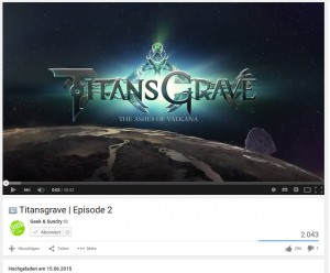 Titansgrave Episode 2 unlisted auf Youtube